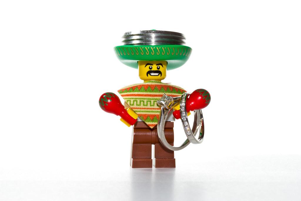 Lego Mexican Wedding Ring Bearer Bluem00ner Flickr