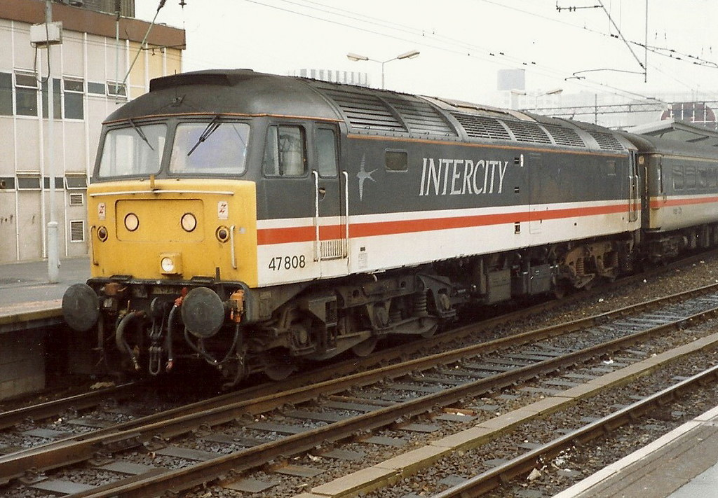 ... BR Class 47/8 47808 - Manchester Piccadilly | by dwb transport photos