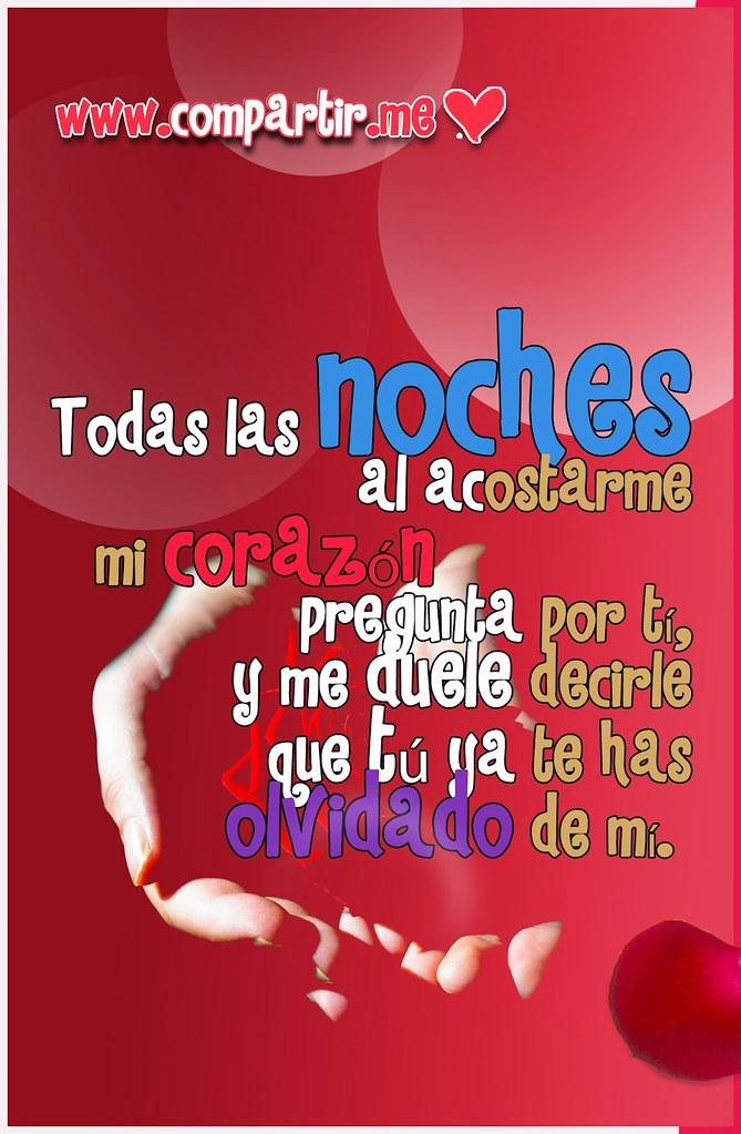 Frases De Amor Tarjeta En Hd Con Frase Mi Corazon Pregunt Flickr