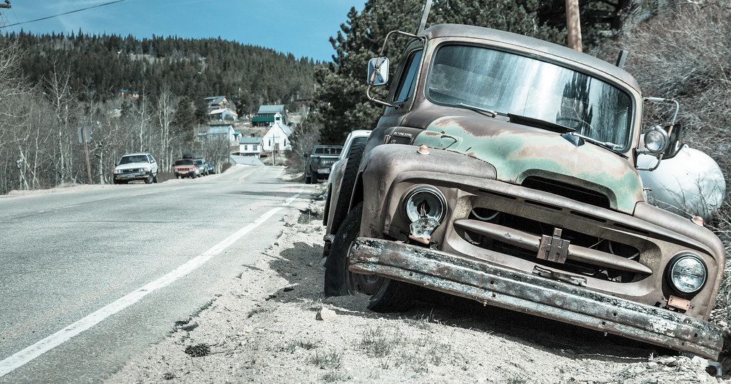 Ward Colorado - Where Old Cars Go to Die | Odd town. | Dave Dugdale ...