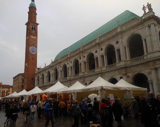 Basilica Palladiana durante CioccolandoVi, Vicenza