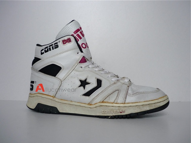 ... VINTAGE CONVERSE CONS 100 BASKETBALL SPORT SHOES | by aucwd