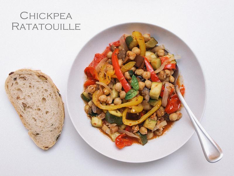 Chickpea Ratatouille Niçoise