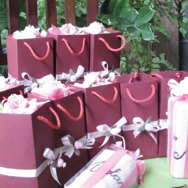 Souvenir Handuk Bordir Paperbag Cocok U Souvenir Siraman Souvenir Gift Jammakcraft