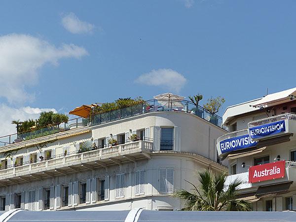 villa sur le toit