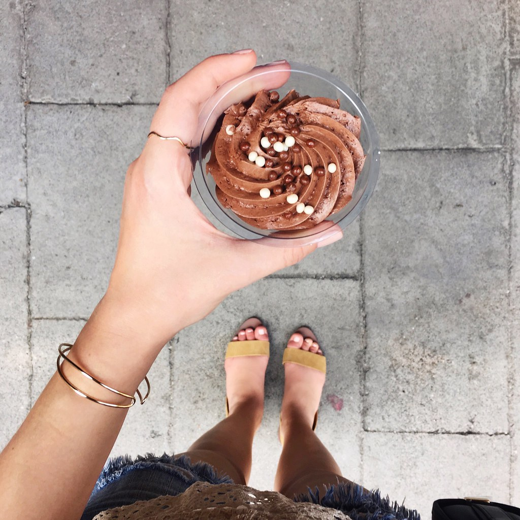 Summer Sandals Chocolate Mousse