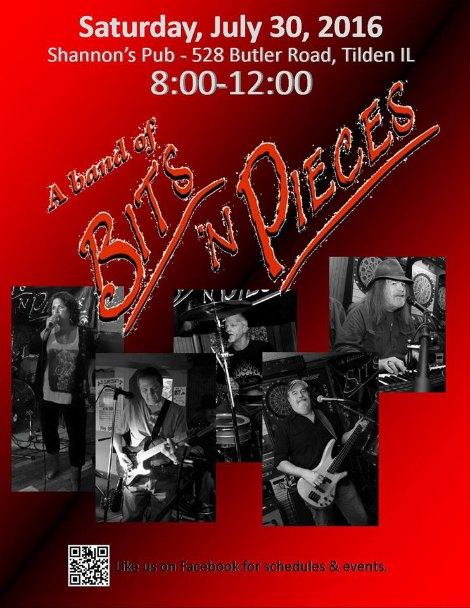 Bits n Pieces 7-30-16