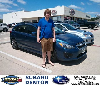 Thank You To William Wrinkle On The 2013 Subaru Impreza Wa
