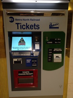 New Metro-North Ticket Vending Machine with SMART Card Technology | by Brian Weinberg