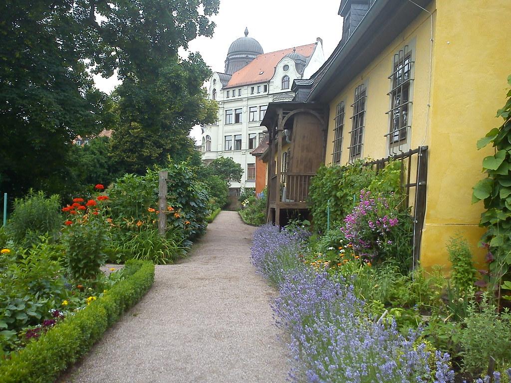 Goethe wohnhaus garten gelb anstrich kulturerbe weimar kla… | Flickr