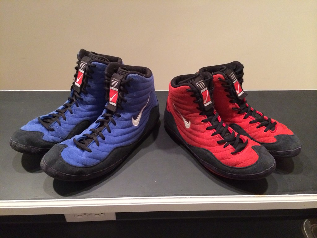 OG Reissue Nike Inflict Wrestling Shoes - GONE | Blue - 12.5… | Flickr
