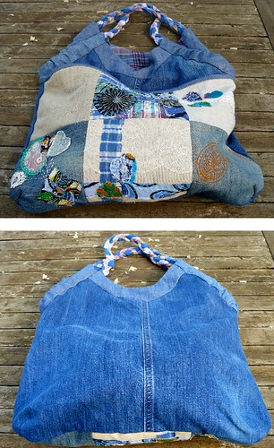 Sac en jean (tissus 100% recyclés) | by chabronico