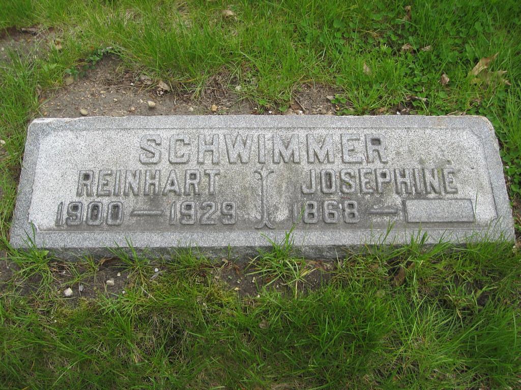Reinhart Schwimmer Grave Site St Valentine S Day Massacr Flickr