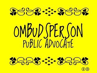 Buzzword Bingo: Ombudsperson = Public Advocate