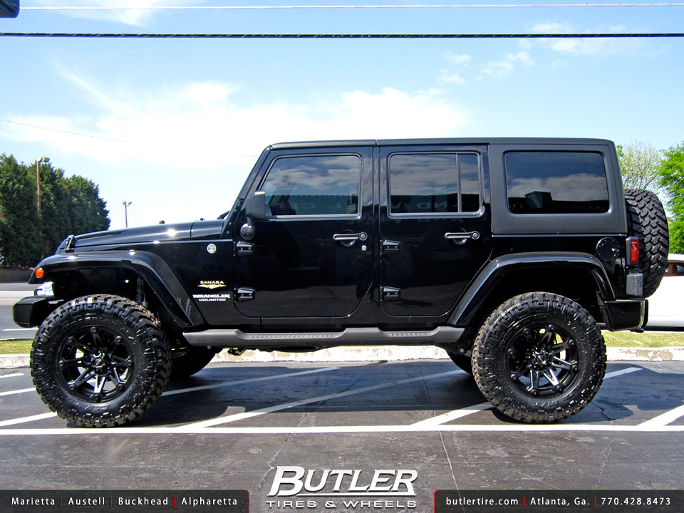 ... Jeep Wrangler With 18in Ballistic Jester Wheels | By Butler Tires And  Wheels