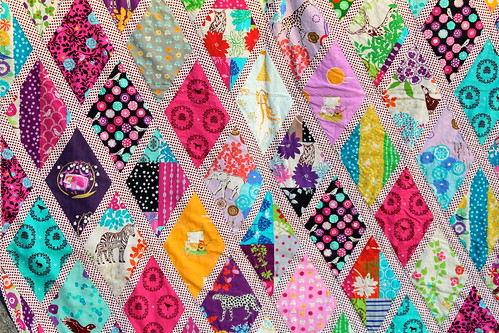 Fairytale Forest quilt close up | by IssabellaTheCat