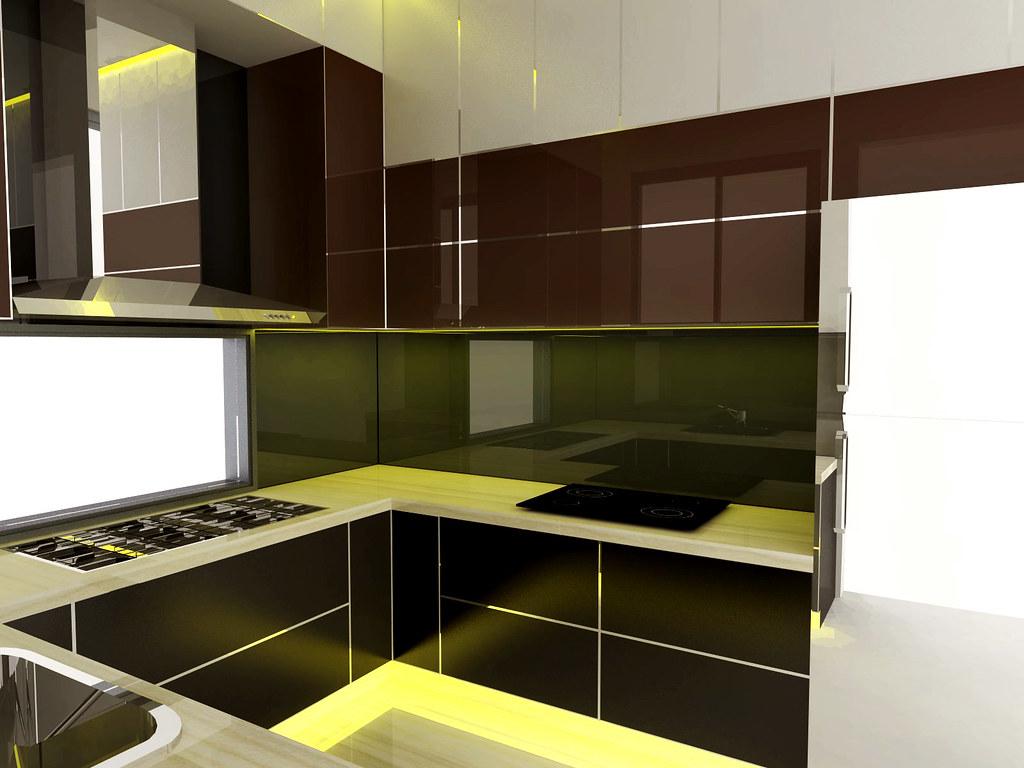 Desain Dapur Kotor Dan Dapur Bersih Minimalis Di Jati Asih Flickr