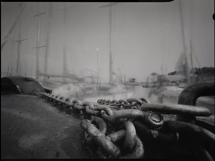 By Pinhole Camera Homemade 4x5Fomapan 1009x12DevDiafine