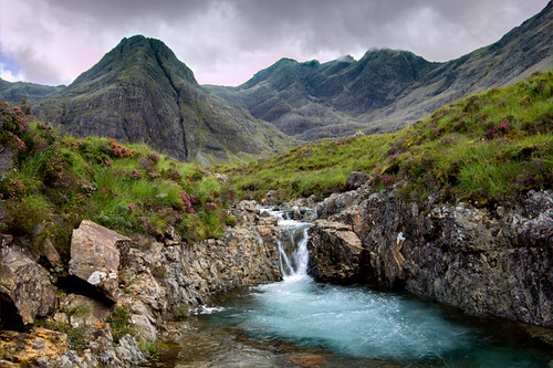 The fairy pools waterfalls isle of skye crystal clear - Crystal pools waterfall ...