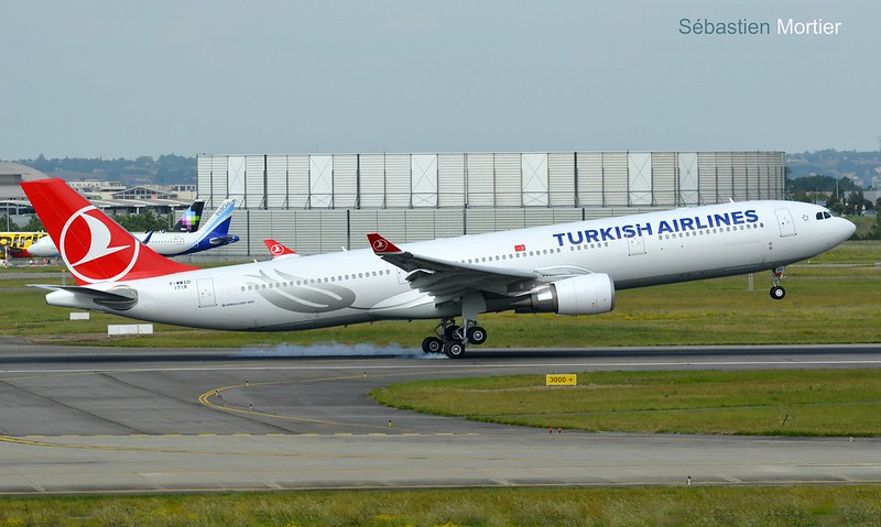 A.330-303 TURKISH AIRLINES F-WWCD 1718 TO TC-LNG 25 05 16 TLS