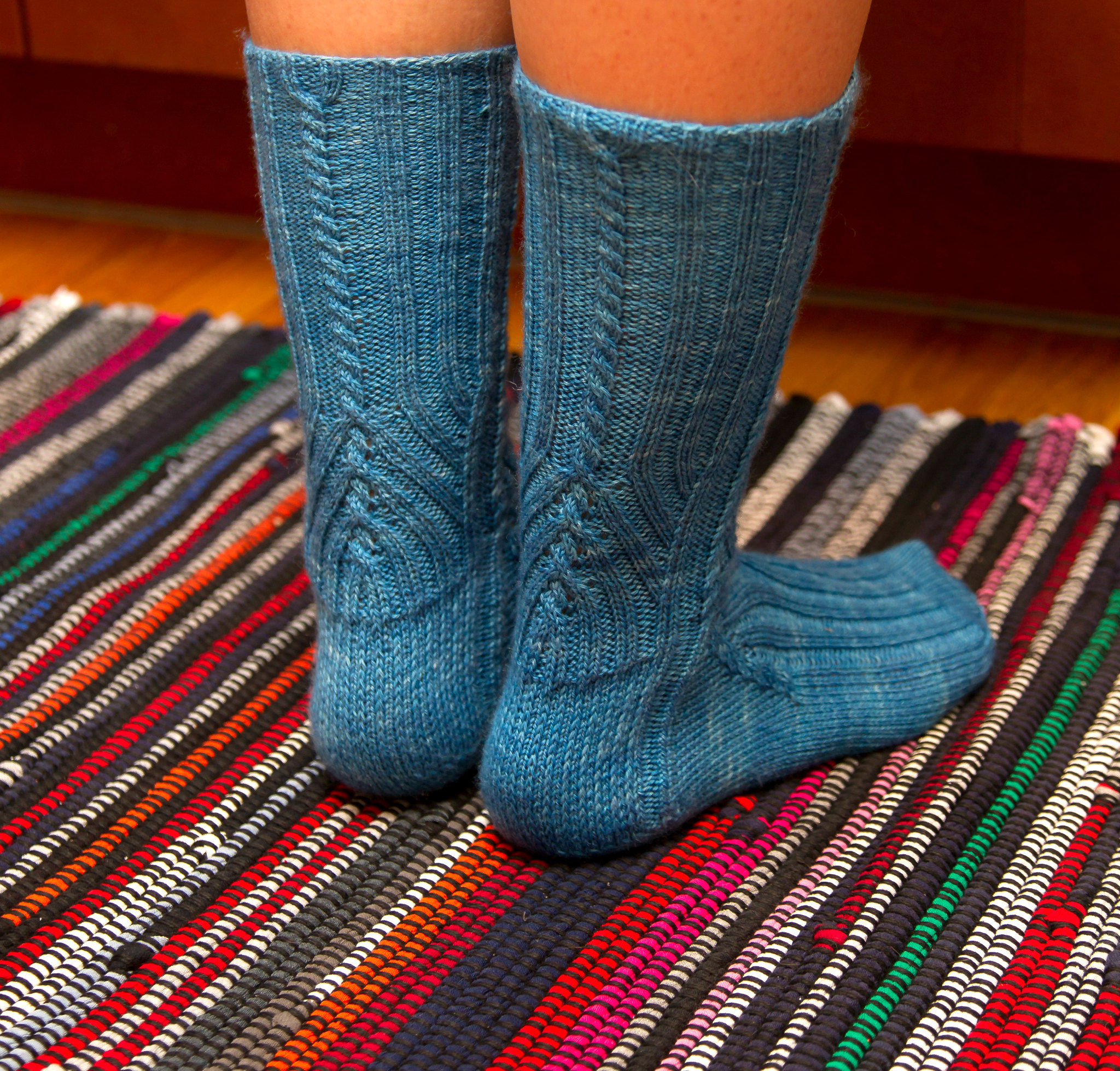 Manoa sock pattern