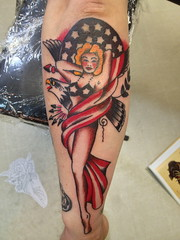 Sailor Jerry Pin Up Girl