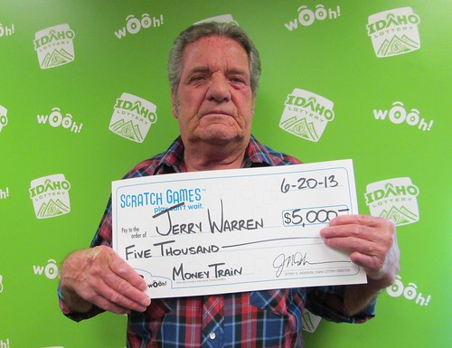 Jerry Warren - $5,000 Money Train | by Idaho Lottery