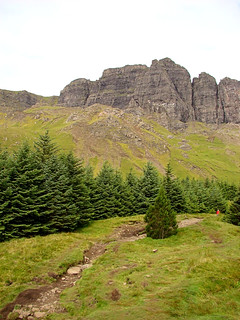 012 Wandeling bij Old Man of Storr