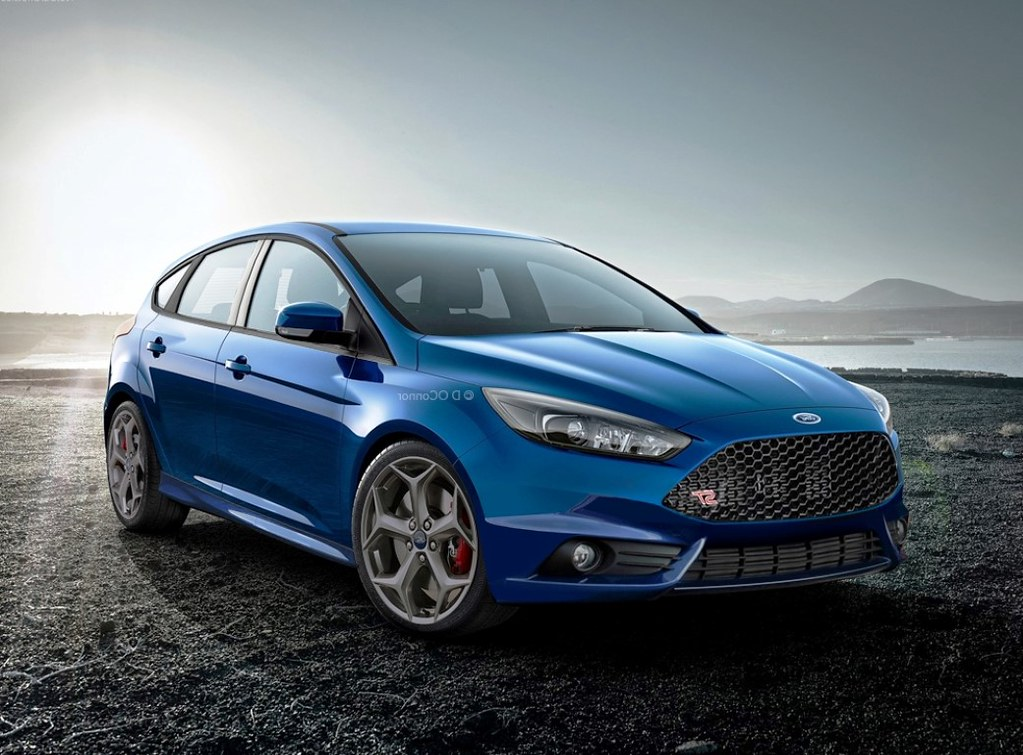2015 ford focus st car wallpapers at httpwallsautocom2015 - Ford Focus St 2015 Blue