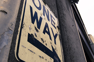 oneway_sign | by Seattle Department of Transportation