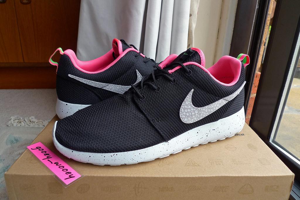 sports shoes f15c3 8325c ... where to buy nike roshe run x size urban safari pack black stadium grey  digital 9b6fa