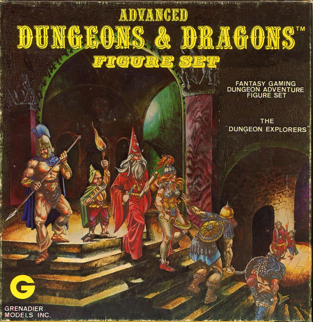 grenadier advanced dungeons dragons dungeon explorers flickr