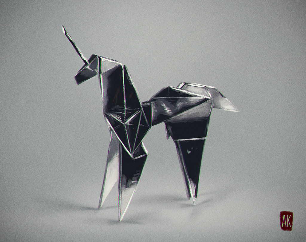 Blade Runner Origami Unicorn This Is Second Pic Of My Belo Flickr