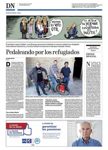 Diario navarra pedaleando.