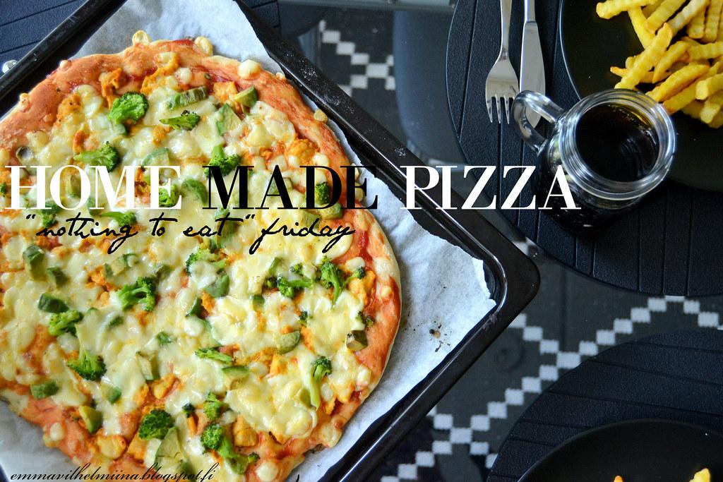 itsetehty pitsa