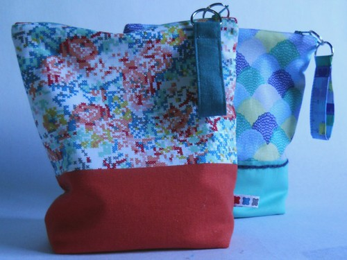 hipster fabric zip pouches | by :: Nova
