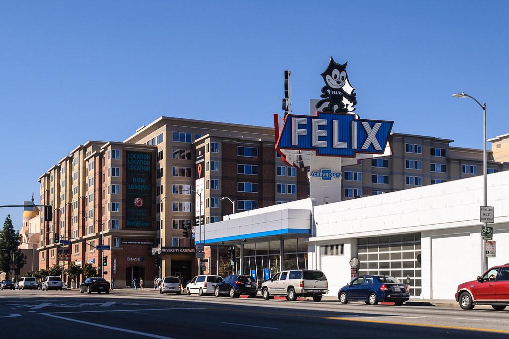 Delightful ... Felix Chevrolet, Exposition Park, Los Angeles | By InSapphoWeTrust