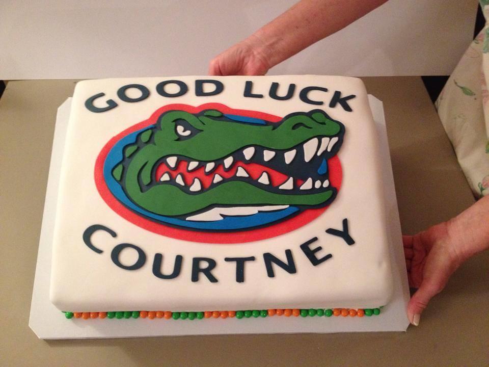 Florida Gator Birthday Cake Lady Wpb Flickr