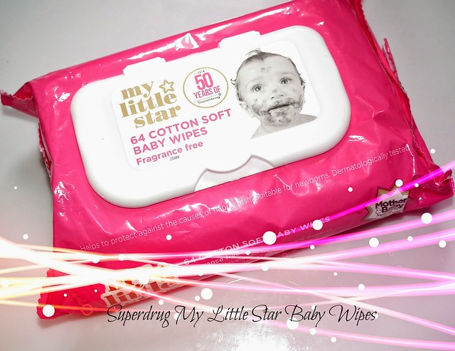 Superdrug My Little Star Baby Wipes Review