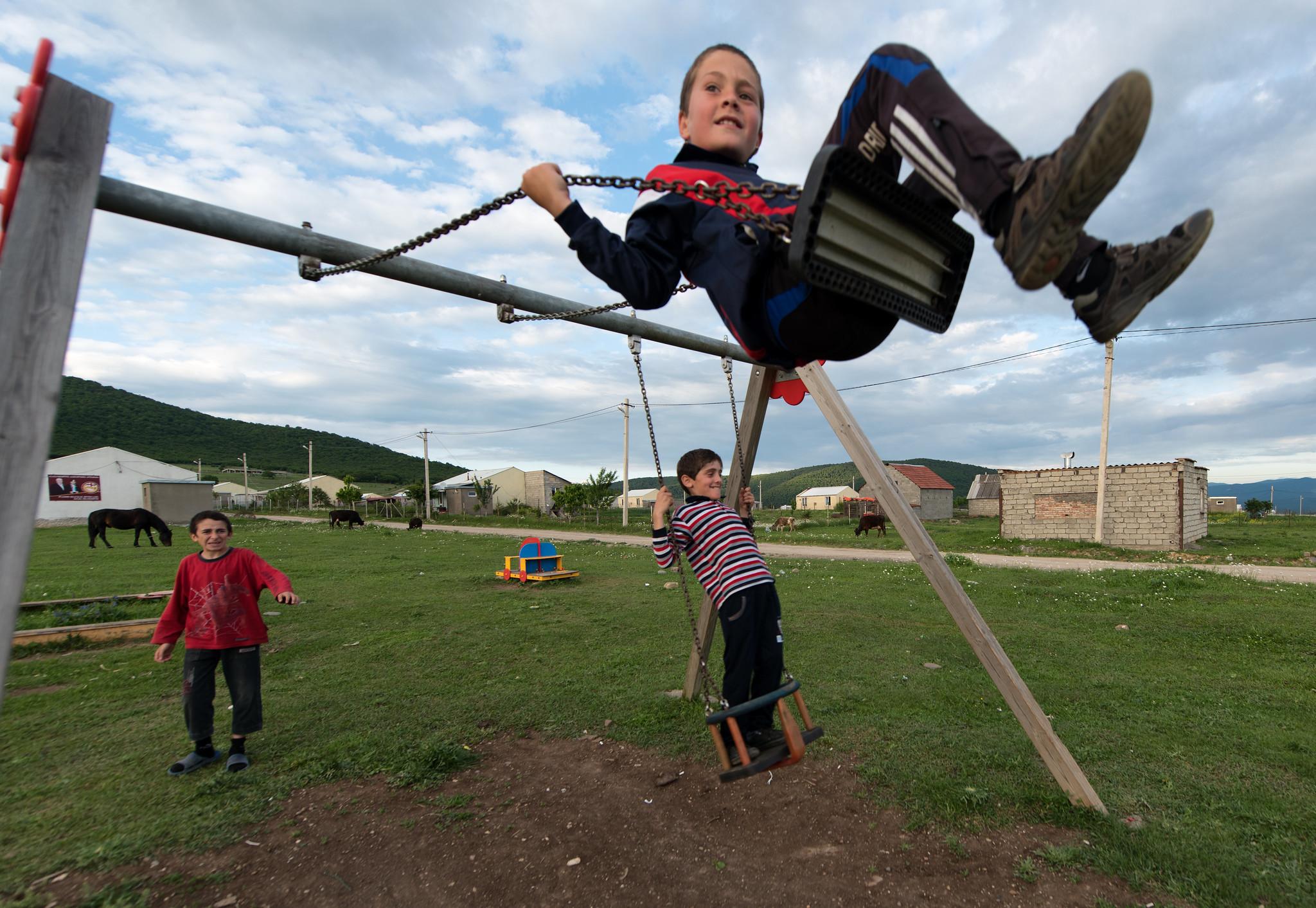 Swinging to Freedom