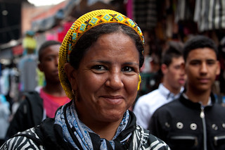 Portrait of woman in Marrakesh | by World Bank Photo Collection