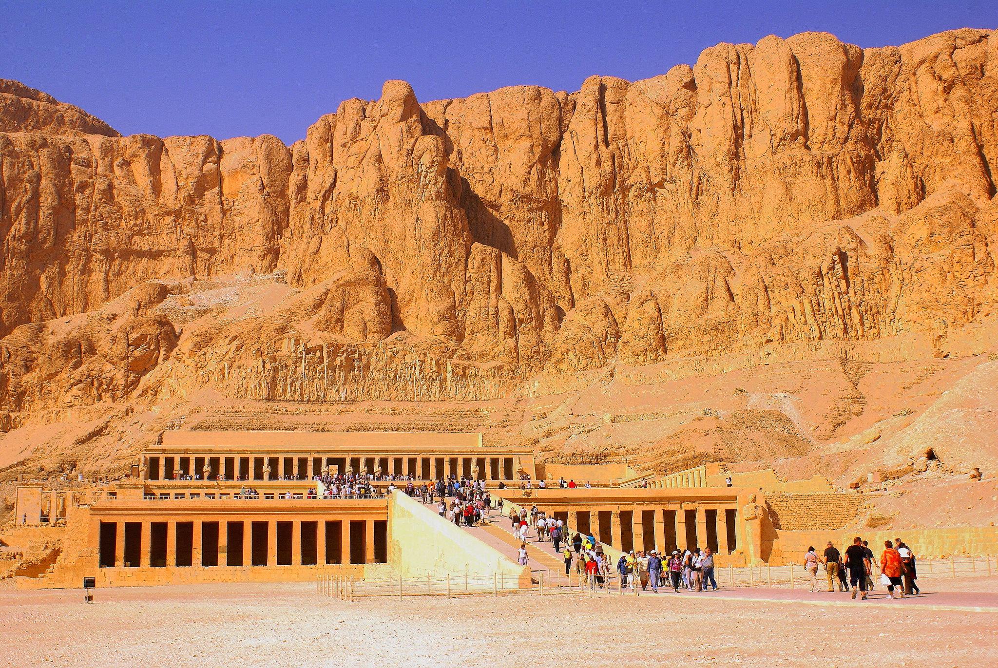 Temple of Hatschepsut near Luxor