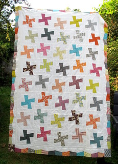 Whirly garden quilt | by Anne@surelynotanotherproject