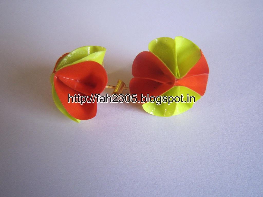 Handmade Jewelry Paper Punch Flower Stud 2 These Jewel Flickr