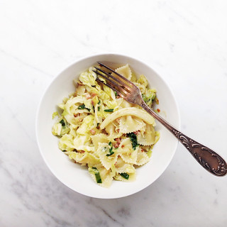Pasta with cabbage and pancetta | by sassyradish