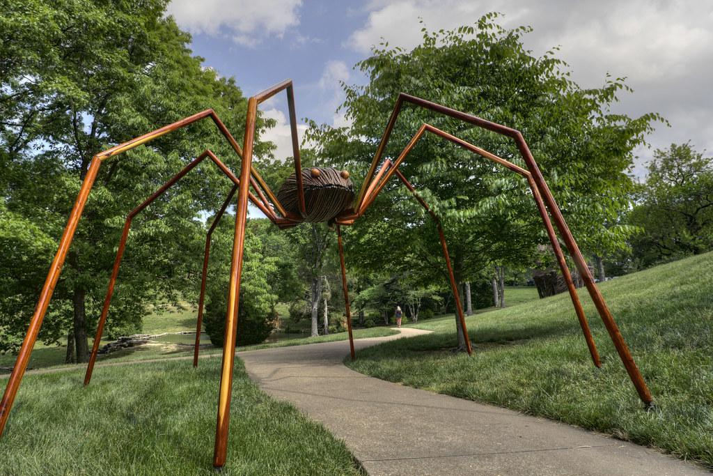 ... Daddy Long Legs, David Rogers Big Bugs, Cheekwood Botanical Garden,  Nashville,