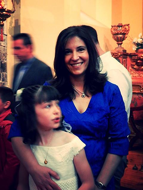 Amaya con Lucía