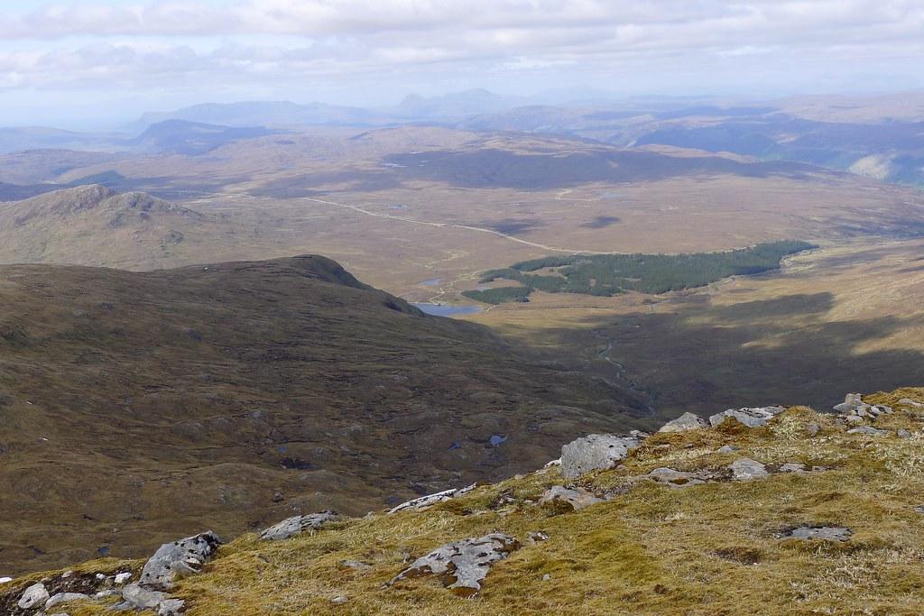 Loch a' Bhraoin from Sgurr Breac