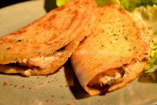 Délices au Fromage Jambon, Lard & Champignons © Ana Luthi Tous droits réservés 22