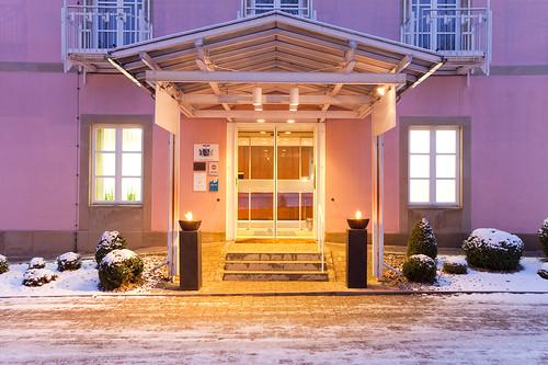 Eingang Des Relexa Hotel Bad Steben Herzlich Willkommen Im Flickr